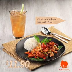 [ThaiExpress Singapore] Don't miss our Weekday Lunch Combo!