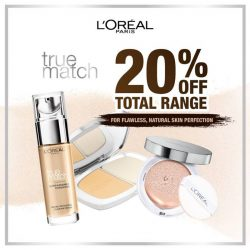 [Watsons Singapore] Find your skin's true match with L'Oreal Paris!