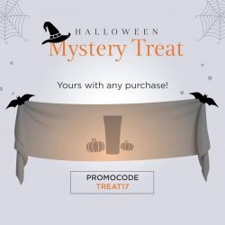 [Clarins] Halloween Checklist: Make-up ✔ Costume ✔ Treats ✔ Enjoy your FREE Mystery Treat from Clarins with any purchase on Clarins.