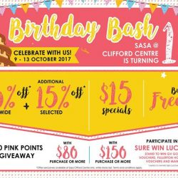 [Sasa Singapore] Party's starting TOMORROW & YOU'RE INVITED!