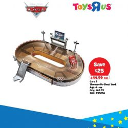 "[Babies'R'Us] Get the Cars 3 Thomasville Ghost Track Set at Toys""R""Us today!"