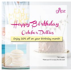 [Gripz] Happy Birthday October Dollies!