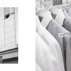 [Crocodile] Keep to simple grey, black and white for a purist, modern approach.