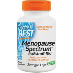 [VitaKids] Doctor's Best Menopause Spectrum with EstroG-100, 30 vcapsThis product is made out of a patented blend of