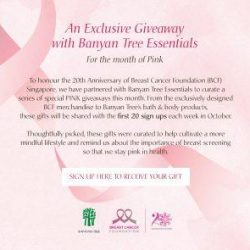 [Breast Cancer Foundation] We are in the final week of Breast Cancer Awareness Month!