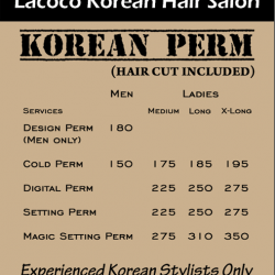 [Lacoco Hair Salon] Korean Perm Promotion