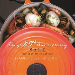 [Le Creuset] Celebrating Tangs' 85th Anniversary with FLAME-ing deals!