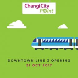 [Changi City Point] Hooray, Downtown Line 3 (DTL3) opens today!