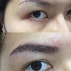 [Brow Art Studio] Natural Eyebrow embroidery that you can't tell the difference from real done by our master arist Jenny Xu.