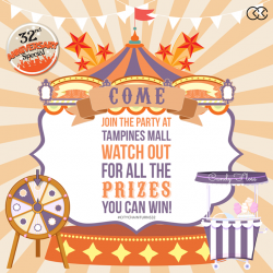 [City Chain Primo] Candy floss, promos, discounts and more when you come to City Chain at Tampines Mall on the 14th of October