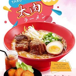 [Ajisen Ramen Dining] Do you enjoy pork that literally melts in your mouth?