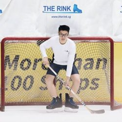 [THE RINK] Winter sports can be enjoyed right here in Singapore.