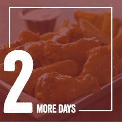 [Wing Zone Singapore] Just 2 more days left before our grand opening of our newest outlet!