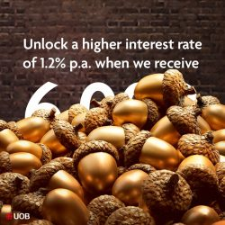 [UOB Bank] You can unlock a higher interest rate of 1.