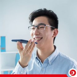 [OCBC ATM] We are leading the charge in Asia in using voice recognition technology for business banking mobile solutions!