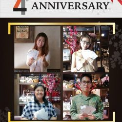 [Sumire Yakitori House] Thank you all our dear customers for the FB&IG 4th year SUMIRE anniversary contest.