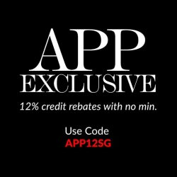 [Reebonz] 3 DAYS APP ONLY EXCLUSIVE 🔊Shop on our app to earn 12% credits back!