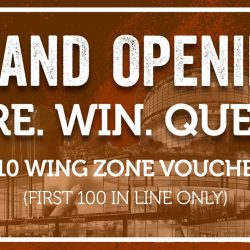 [Wing Zone Singapore] WING ZONE @ SINGPOST CENTRE GRAND OPENINGShouting out to all Flavorholics!