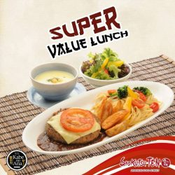 [Shokutsu 10] Are you in the mood for a Super Value Lunch?