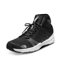 [The North Face] Featuring an over-the-ankle monosock construction, the Litewave Ampere II HC pairs the stylish modern in-gym style look