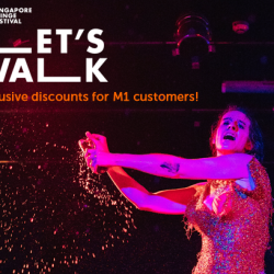 [M1] M1SFF LetsWalkThe M1 Singapore Fringe Festival will be back in January 2018 with the theme Let's Walk!
