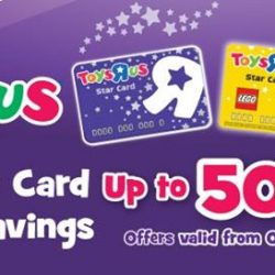 [Babies'R'Us] Check out our special deals for our special Star Card members!