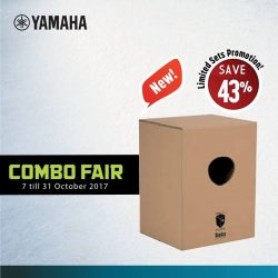[YAMAHA MUSIC SQUARE] Combo Fair limited sets promotion is available now!