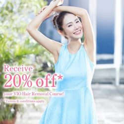 [Musee Platinum] Let our VIO Hair Removal Course take care of unwanted body hairs on delicate parts of the body while still