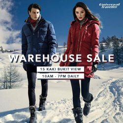 [Universal Traveller] Our factory outlet warehouse sale is now on!