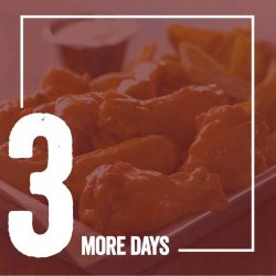 [Wing Zone Singapore] Just 3 more days left before our grand opening!