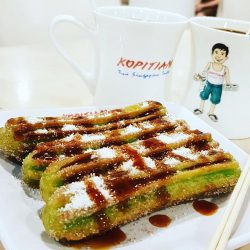 [Churros Factory Singapore] It's lunch time but I'm saving my tummy for some yummy Churros for dessert over at Kopitiam Group!