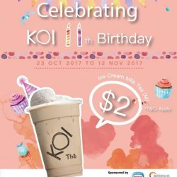[KOI Café Singapore] Celebrating KOI 11th Birthday!