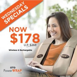 [OTO Bodycare] WEDNESDAY SPECIALS - OTO Power Wrap at Only $178.