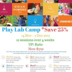 [GYMBOREE PLAY & MUSIC] Gymboree's Holiday Camp is fast approaching.