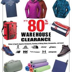 [Running Lab] The Outdoor Venture Warehouse Sale is back!