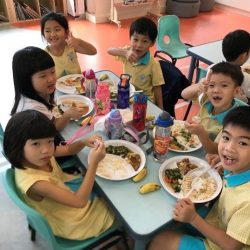 [The Little Skool-House] Healthy eating is important for every growing child.