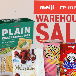 Meiji: Warehouse Sale 2017