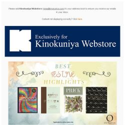 [Books Kinokuniya] 🎄 Festive highlights at 15% discount off, exclusively for online purchase! Order early for your year end needs 🎁