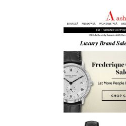 [Ashford] Still Time to Save on Frederique Constant & Certina