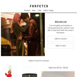 [Farfetch] The gift guide   #GiveItLiveIt