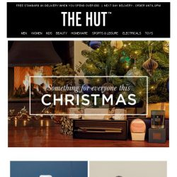 [The Hut] There's something for everyone this Christmas