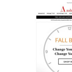[Ashford] Fall Back with These Great Watches from Ashford