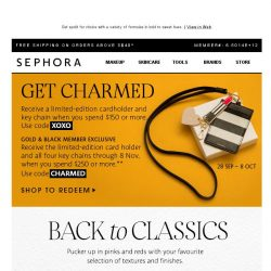 [Sephora] It's all about💄