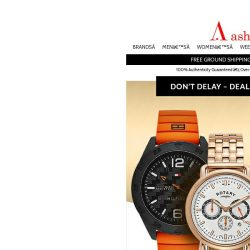 [Ashford] Last Chance at These Weekly Watch Deals
