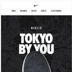 [Nike] Take the City By Storm with NIKEiD