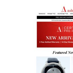 [Ashford] LOOK! New Selection of Certified Pre-Owned Watches