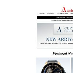 [Ashford] Certified Pre-Owned - Spectacular New Arrivals!