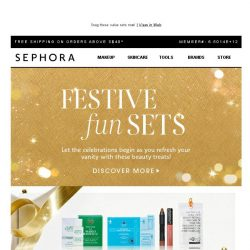 [Sephora] More goodies for the holiday season🎉