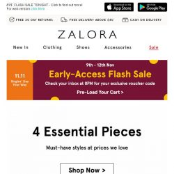 [Zalora] The Style Edit: Must-haves for the season!