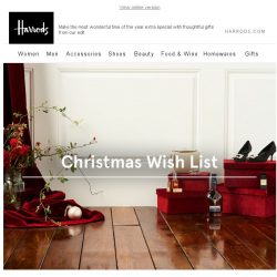 [Harrods] Find The Perfect Present